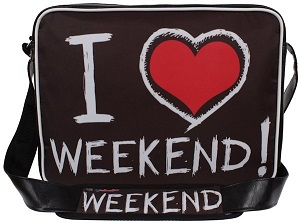 torba na ramię I love weekend