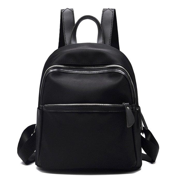 404d2525da362 ... Mini plecak damski czarny ...