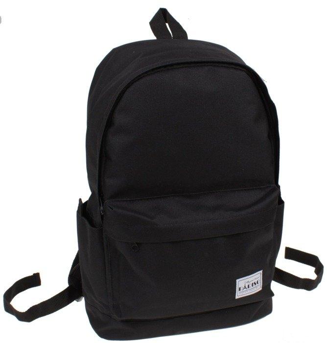 fcb268ed91507 Plecak szkolny czarny klasyczny vintage Pariso | Sklep z torbami i ...