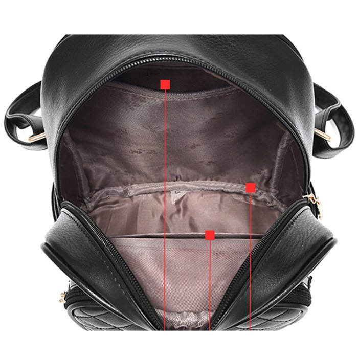 90e8aac9a6423 ... Plecak damski stylowy z misiem ...
