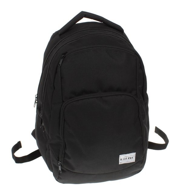 73032a91e4ff8 Plecak pojemny czarny do szkoły Pariso   Sklep z torbami i plecakami ...
