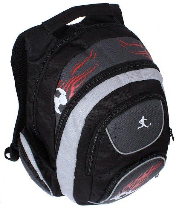 fa16ca33677c5 Plecak szkolny dla chłopca pakowny piłkarski