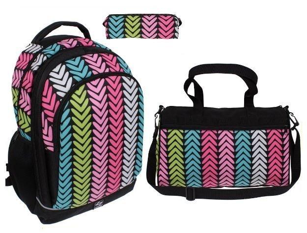 c8340d3e3235b Plecak szkolny dla dziewczyny w jodełkę pojemny | Sklep z torbami i ...
