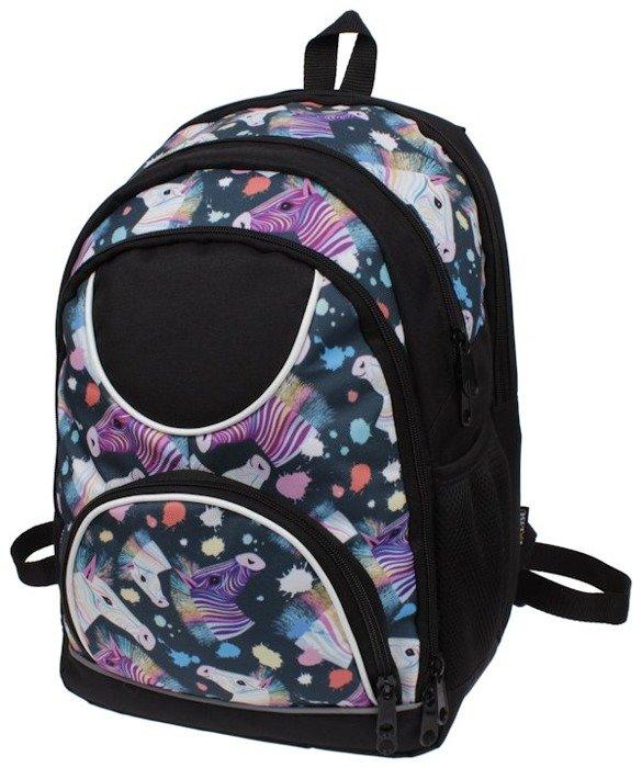 85a17897b1f13 Plecak szkolny dla dziewczyny w konie zebry | Sklep z torbami i ...