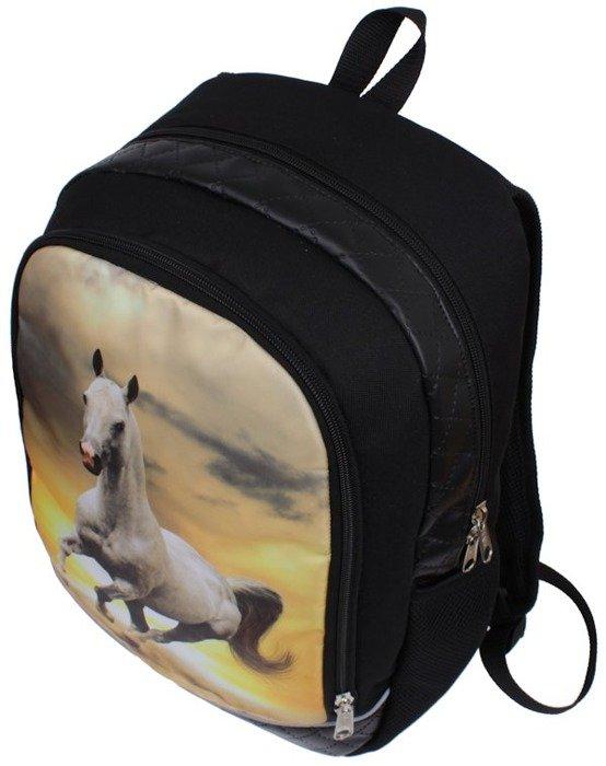 f62b1e32c4d37 Plecak szkolny pikowany koń | Sklep z torbami i plecakami Pariso.pl