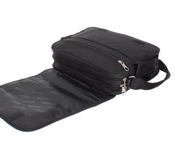 fef0a32f41d43 Torba damska na ramię czarna z organizerem | Sklep z torbami i ...
