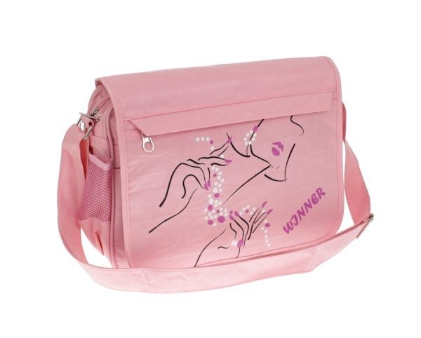a65c09080e7cb Torba damska na ramię różowa z organizerem | Sklep z torbami i ...