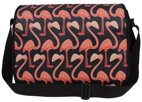 4a4ec511c19d9 ... Torba na ramię wzór Flamingi ...