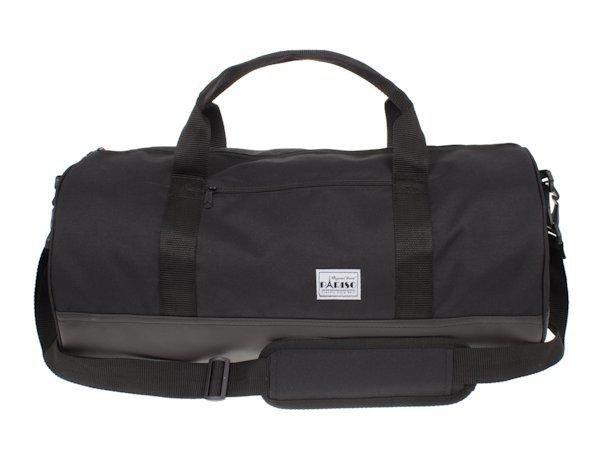 f174a18603a27 Torba sportowo-podróżna czarna w kształcie tuby | Sklep z torbami i ...