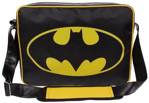 a1d00c7d6ea50 ... Torba szkolna Batman listonoszka na ramię A-4 ...