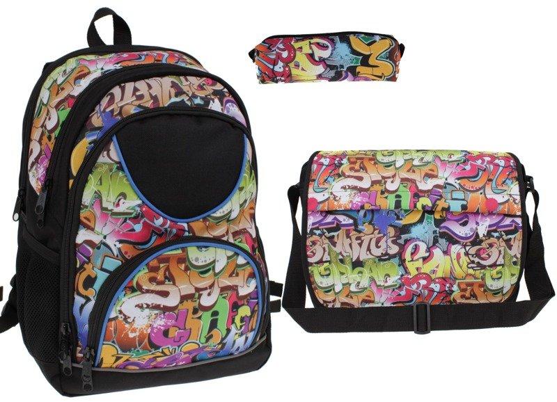 3fae326f2e91e Zestaw szkolny plecak torba piórnik  Zestaw szkolny plecak torba piórnik ...